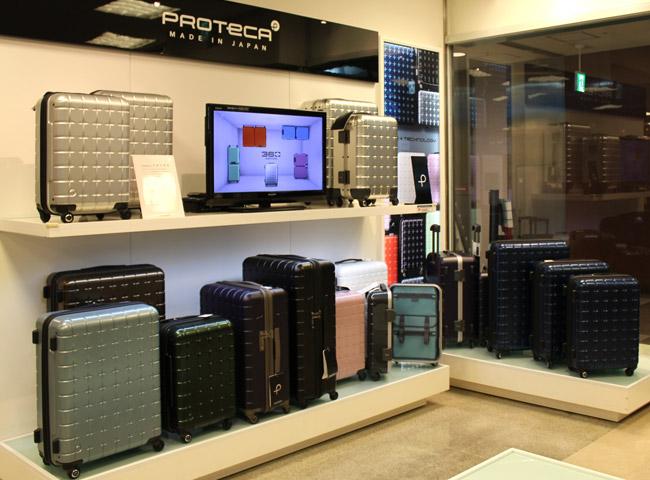 スーツケース・かばん売場イメージ